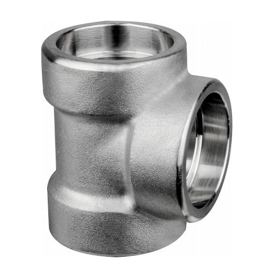 316不锈钢承插焊三通